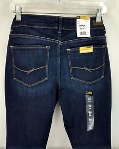 b10ee816 Lee Bootcut Curvy No-gap Waistband Womens Jeans Sz 10L 12S 14S 18M ...