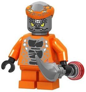 Ninjago-Snike-Snake-Serpentine-Spinjitzu-Custom-Lego-Mini-Figur-Lloyd-Ninja-Spielzeug