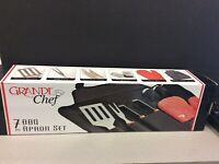 Grande chef 7 piece apron set New ! Oakville / Halton Region Toronto (GTA) Preview