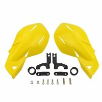 Yellow Hand Guards For Snowmobile Polaris Rmk Ski-doo Sno Pro Vector Phaser Indy