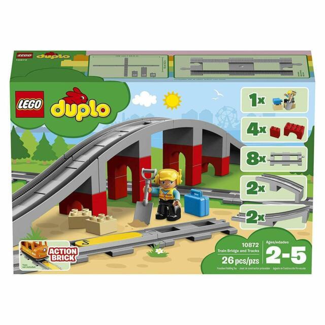 LEGO DUPLO - Train Bridge and Tracks - 10872