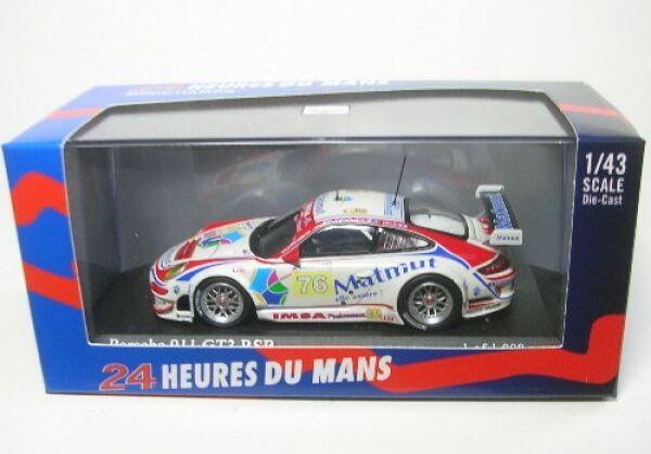 Porsche 911 GT3 rsr no. 76 lemans 2009