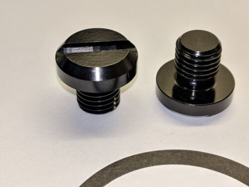 Pair of HJR Products Mirror Blanking Plugs caps Yamaha mt09 MT-09 left and right