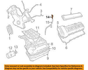 jaguar oem 04 09 xj8 4 2l v8 engine oil fluid dipstick c2c22741 ebay rh ebay com 2003 Jaguar XK8 Fuse Diagram Jaguar 2004 Engine Diagrams Hoses