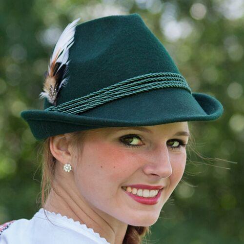 Trachten Damenhut mit Feder Hut Hüte Damenhut