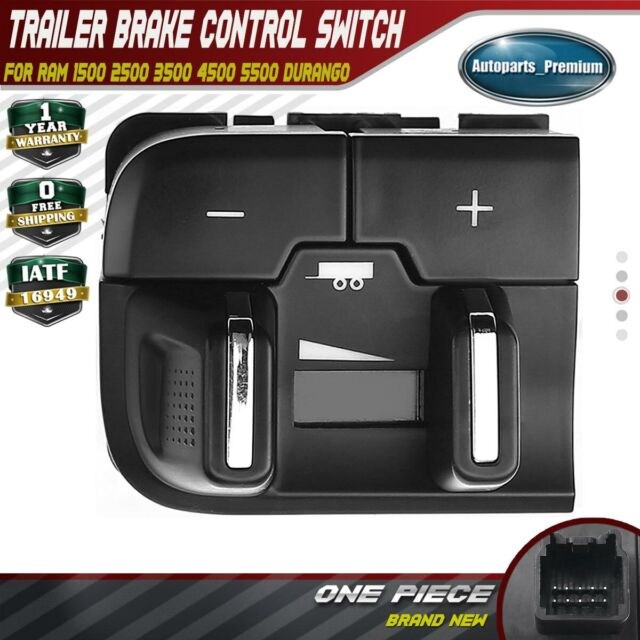WFLNHB Trailer Brake Control Switch Assembly 68105206AC Replacement for 2013-2018 DODGE RAM 1500 2500 3500 4500 5500