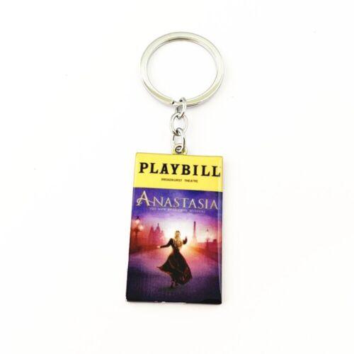 Anastasia Broadway Musical Silvertone Charm Pendant Keychain
