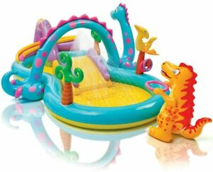 Intex-Dinoland-Inflatable-Play-Center-Pool-131in-X-90in-X-44in-for-Ages-2-NEW