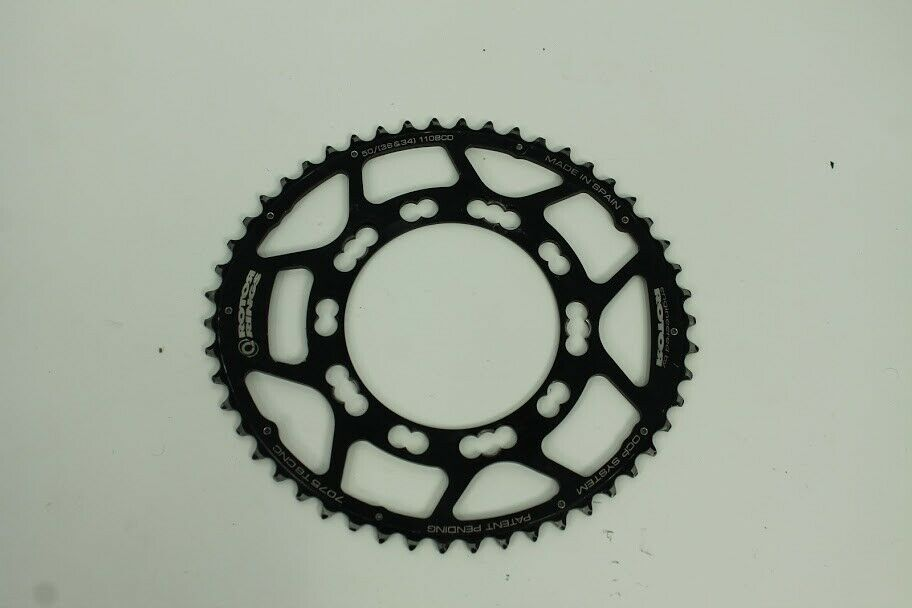 Used Rotor OCP Chainring Set 50 36 110 BCD Good Condition