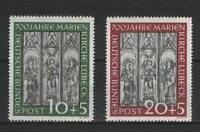 Bund Mi. Nr. 139-140 postfrisch, 700 Jahre Marienkirche Lübeck (2)