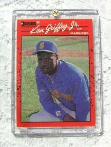 KEN GRIFFEY JR .1989 Donruss Card Error Misprint #365 No Dot After Inc RARE !