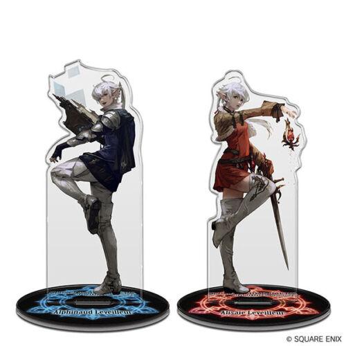Final Fantasy XIV Acrylic stand Alphinaud /& Alisaie Figure Square Enix 2019 Item