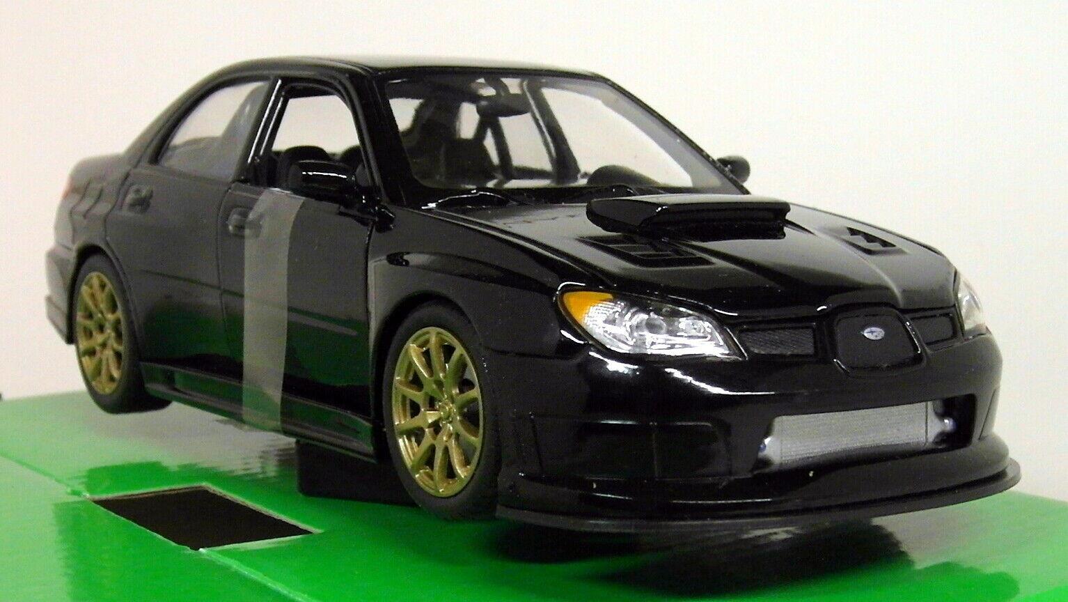 Nex Models 1 24-27 Scale Subaru Impreza Impreza Impreza WRX STi 2nd Gen Hawkeye BLK Diecast car bad8b8
