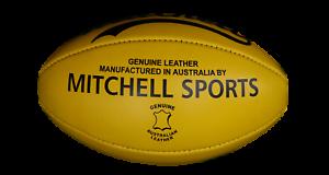 Football AFL Single Ball Yellow