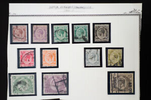Kenya-Early-Revenue-Stamp-Collection