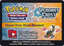 Pokemon ONLINE CODE Card for Yanmega Prime, Verdant Frost Deck, and 3 Boosters