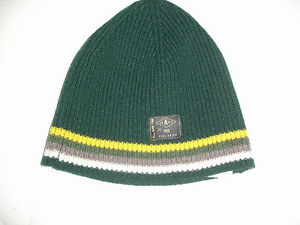 f71a1a332bb Image is loading PAUL-SMITH-Jeans-100-Wool-Green-Hat-Beanie-
