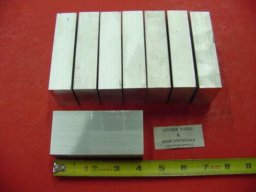 25 Pieces 1 X 2 ALUMINUM 6061 FLAT BAR 4 long Solid Plate MILL STOCK 1.0x 2