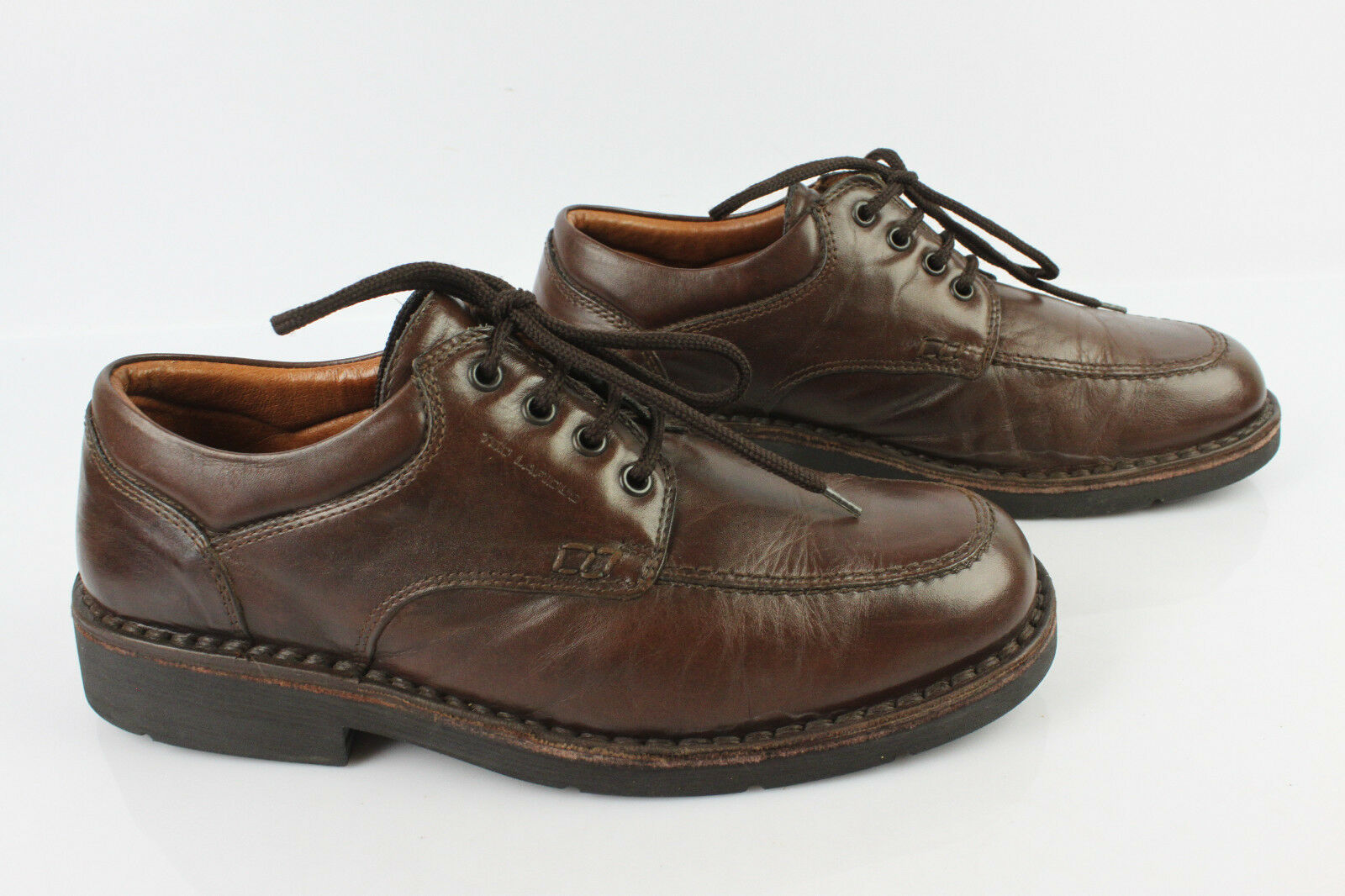 Derby TED LAPIDUS Cuir brown T 41 TBE