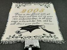 Class of 2010  Graduation Tapestry Afghan Throw