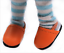 Babies NEW 23MM Monique Doll Shoes MARIGOLD CLOGS for OOAK Dolls