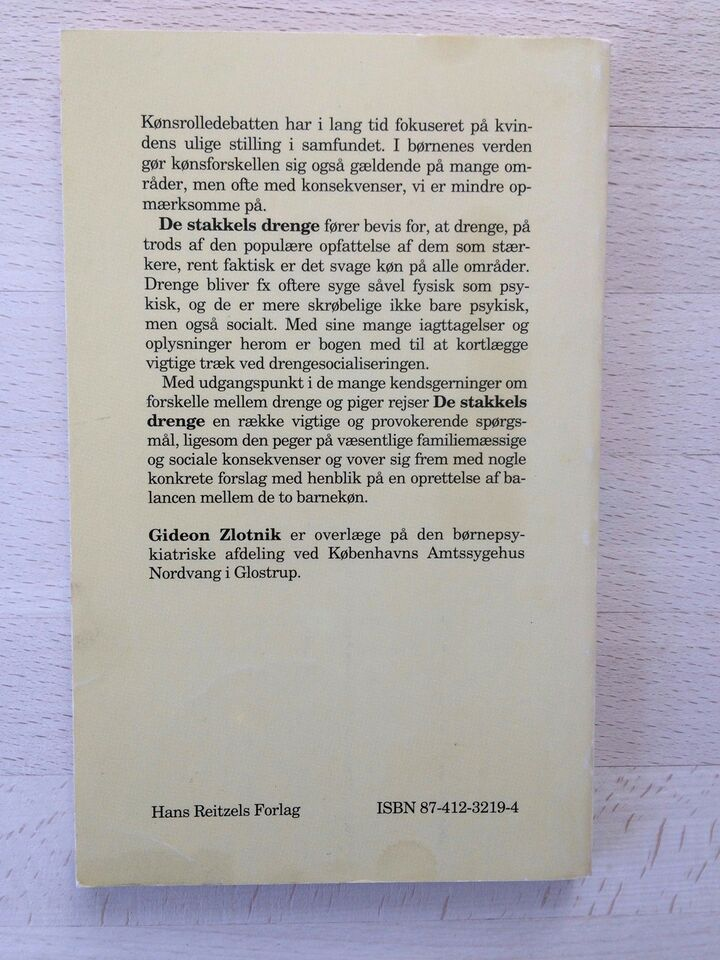De stakkels drenge , Gideon Zlotnik, emne: familie og børn