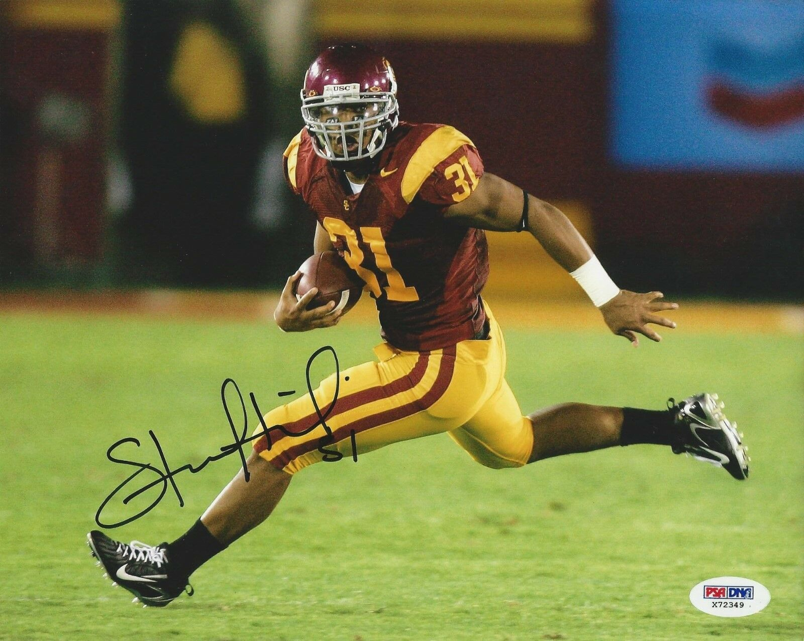 Stanley Havili USC Trojans signed 8x10 Photo PSA/DNA #X72349