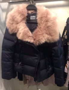 NEW SEASON ZARA SHORT DOWN PUFFER ANORAK QUILTED DRESS JACKET COAT 8073//263