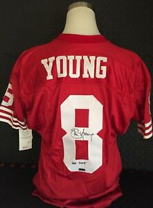 424ad8310 Image is loading STEVE-YOUNG-San-Francisco-49ers-Signed-Authentic-Pro-