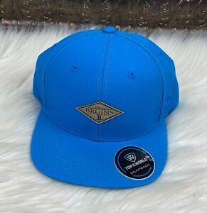 UCLA-Bruins-NCAA-Blue-Flat-Brim-Snapback-Cap-Hat-Adult-One-Size-NWT-TOW-Caps