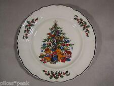 GRINDLEY Royal Tudor Christmas Tree Weihnachts-Teller Gebäckteller Ø 25 cm 20-9