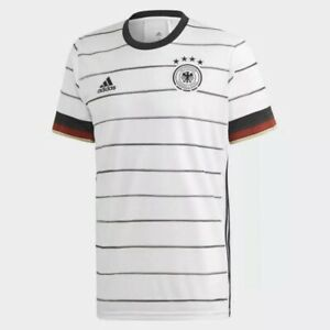 Adidas Germany Home 2020/2021 Jersey (Men's Size S) Soccer White Football Shirt