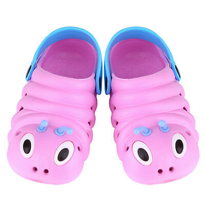 Kids Toddler Cute Caterpillar Cartoon Bee Clogs Water Beach Sandal Slipper Shoes