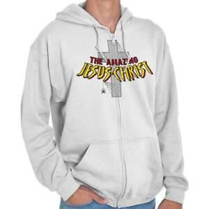 Amazing-Jesus-Christ-Christian-Religious-Zipper-Sweat-Shirt-Zip-Sweatshirt