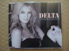 DELTA GOODREM  I Can't Break It To My Heart RARE AUSSIE CD SINGLE 2008 LIKE NEW