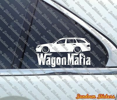 for Mercedes W211 E-class Station wagon Lowered SEDAN MAFIA sticker