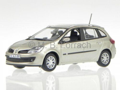 Renault Clio Estate beige Modellauto 7711425964 Norev 1:43