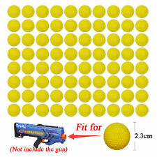50PCS Round Refill Replace Bullet Balls Toy For Nerf Rival Apollo Zeus Dart Guns