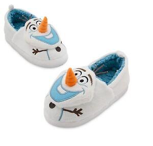 A estrenar con etiquetas genuina Disney Frozen Olaf Zapatillas Tamaño 7-8,9-10,11-12,13-1