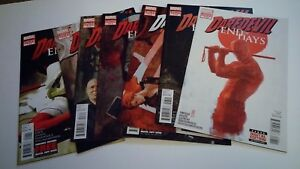 Lot-of-8-Daredevil-End-of-Days-2012-Complete-series-run-NM