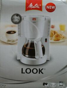 Melitta-Look-Weiss-15-Tassen-Kaffeemaschine