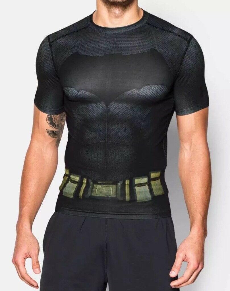 Under Armour Alter Ego Punisher Compression Men's S//S Shirt 1255039 NWT Large L