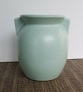 Harris Potteries, Seafoam Vase, Art Deco Inspired, Excellent Condition