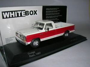 Dodge-RAM-Pick-Up-1987-1-43-WhiteBox-Neuf-boite-WB180