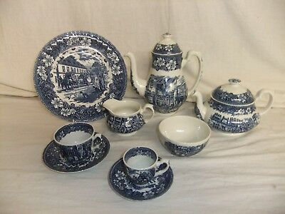 Art Pottery C4 Pottery Royal Tudor Ware Staffordshire Coaching Taverns 8a4d Ideal Gift For All Occasions Pottery & China