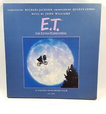 Vintage 1982 ET Record Album Box Set Michael Jackson John Williams