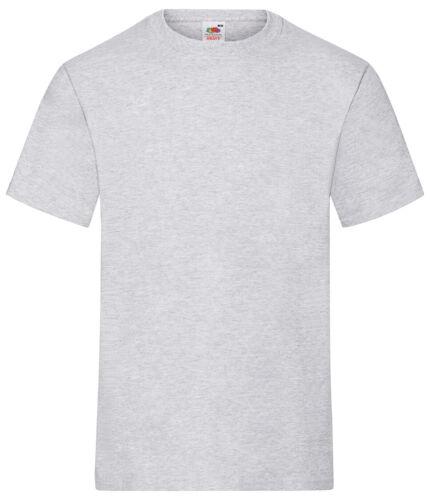 3er Pack Fruit of the Loom Heavy T Herren Basic T-Shirt Unisex NEU