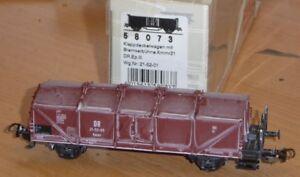 Piko-58073-aus-Set-Klappdeckelwagen-Kmmr-21-gealtert-der-DR-Epoche-3-neuwertig