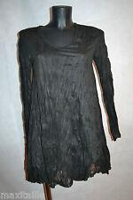 ROBE TUNIQUE  LAUREN  VIDAL CHAMOIS STRECH NEUF TAILLE 40 /DRESS M /KLEID/ABITO