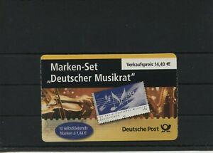 Germany-BRD-Federal-Stamp-Booklet-MH-54-Postmarked-Used-More-See-Shop